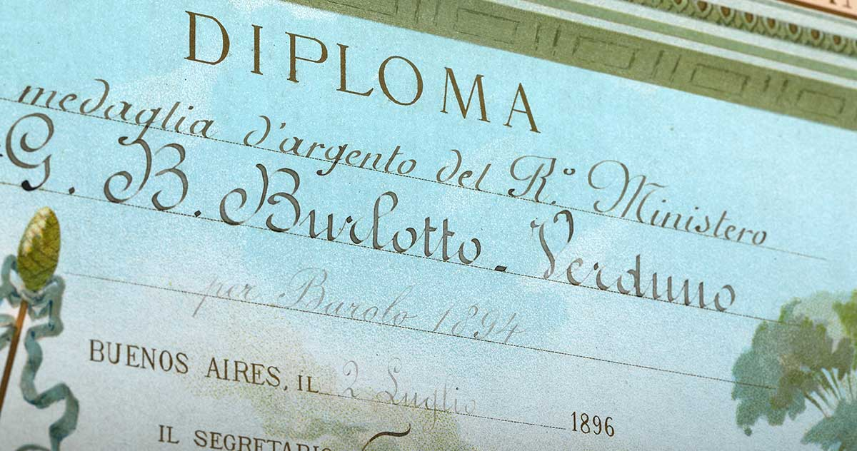 diploma-burlotto-cantina